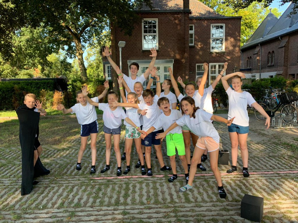 flight camp zomer sportkamp van flight deck 53 trampolinepark in Hilversum